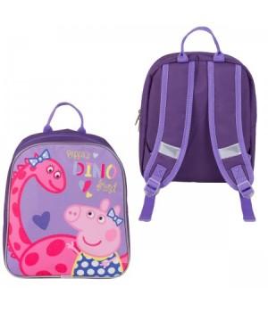 Рюкзак дет ткань 1отд 22*26*8 Свинка Пеппа 33604