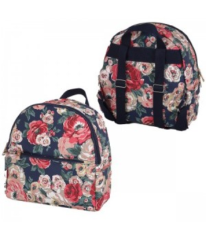 Рюкзак к/з 1отд 24*26*10 Цветы 180871/2 КОКОС