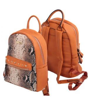 Рюкзак к/з 1отд 26*31*14 deVENTE 7033744 коричневый