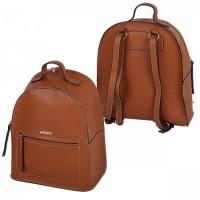 Рюкзак к/з 1отд 28*33*12 deVENTE 7032848 коричневый