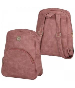 Рюкзак к/з 1отд 24*30*10 Стрит 180755/6 КОКОС розовый