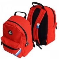 * Рюкзак ткань 1отд 28*36*16 Proff Smilley Football FO16-BP-01 красный