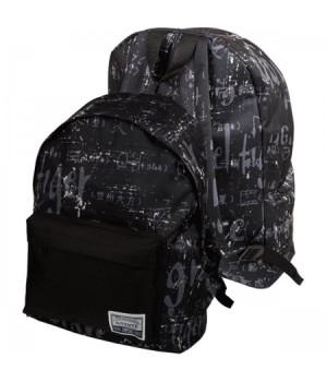 Рюкзак ткань 1отд deVENTE 30*38*14 7034947 черный с рисунком