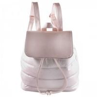 Рюкзак ткань 1отд 30*32*14 отд к/з 189474/1 КОКОС розовый