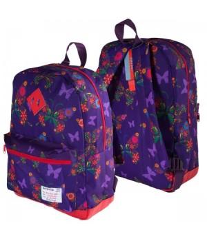 Рюкзак ткань 1отд 30*40*14 deVENTE отд к/з 7033792 фиолетовый