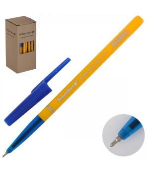 Ручка шар масл 0,7 желт корп Schreiber S 325 А син к/к