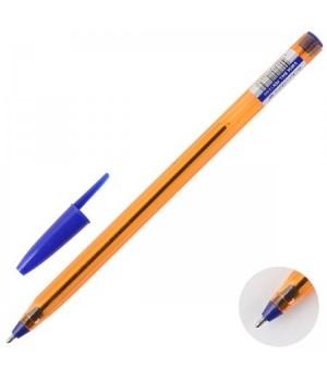 Ручка шар масл 1,0 оранж корп Schreiber однораз S 803 A син к/к