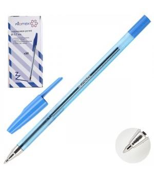 Ручка шар 0,7 тонир корп Attomex 5073310 син к/к
