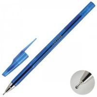 * Ручка шар масл 0,7 игольч тонир корп deVENTE 5070338 син к/к