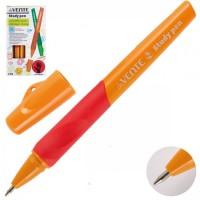 * Ручка шар 0,7 цветн корп резин манжет deVENTE Study обуч письму д/правшей 5073605 син к/к ассорти