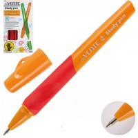 * Ручка шар 0,7 цветн корп резин манжет deVENTE Study обуч письму д/левшей 5073606 син к/к ассорти