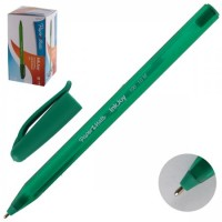 * Ручка шар 1,0 игольч трехгран тонир корп InkJoy 100 Cap однораз S0957150 зел к/к