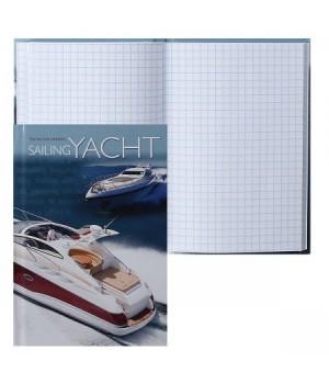 Книжка записная А6 (105*150) 64л тв обл 7Бц Две яхты глянц лам 64-4591