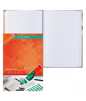 Книжка записная А6 (105*150) 64л тв обл 7Бц Офисный стиль глянц лам 64-3380