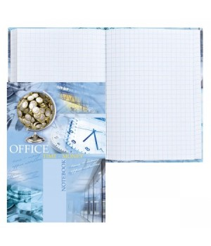 Книжка записная А6 (105*150) 64л интегр обл Денежный глобус глянц лам 64-1282