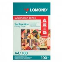 Бумага термотрансферная струйн. для сублимационных чернил 100/А4/100 Lomond 0809413