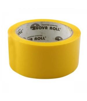 Лента упаков 50мм*66м 45мк Нова Ролл 204 желт