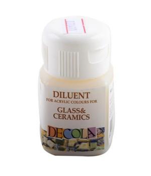 Разбавитель для акриловых красок по стеклу и керамике Decola 50мл 5828927